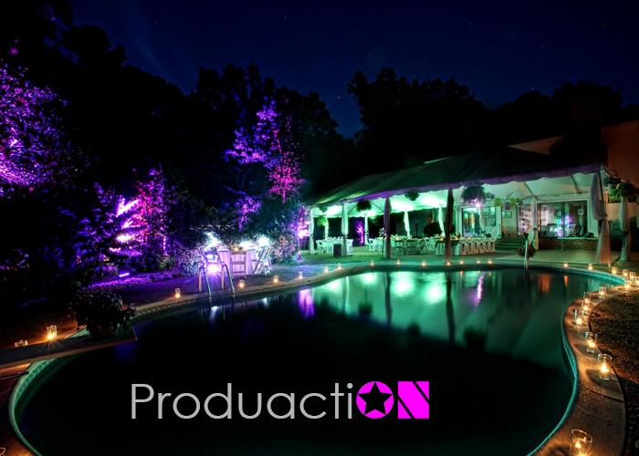 iluminacin para jardines y fachadas